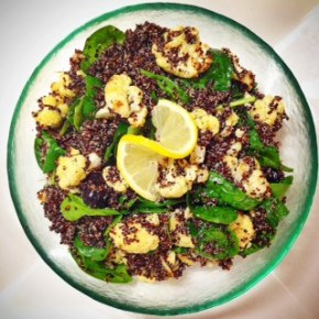 Mediterranean Black Quinoa &Cauliflower