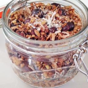 Cacao Hazelnut & CoconutGranola