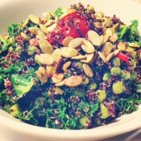 BeUtiful Chilli Quinoa Kale'Pot'